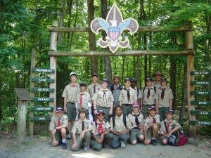 Troop 11 at Camp Cherokee